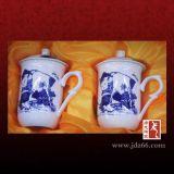 定做陶瓷茶杯厂家,杯子加字印LOGO,纪念礼品杯订制