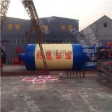 搅拌站全自动水泥仓 100吨立式砂浆罐