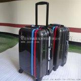 2017最新款碳纤维行李箱 铝框登机箱 拉杆箱