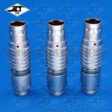 吉隆泰推拉自鎖圓形連接器 2芯3針快速插拔航空插頭