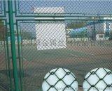 体育场围栏网厂家乐博供应北京镀锌菱形勾花网