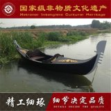 木船观光旅游船吉林河北木船厂家批发意大利专业设计贡多拉游船