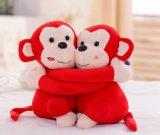 热卖厂家定制批发猴子公仔 子母猴毛绒玩具 情侣猴毛绒公仔深圳晋华玩具