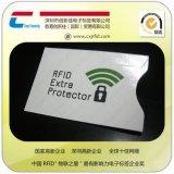 【厂家直销】外贸品质铝箔纸卡套 RFID屏蔽卡套印刷