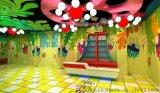 广西儿童乐园景观艺术设计,广西游乐场室内场景基础装修