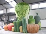玻璃鋼烤漆仿真蔬菜水果