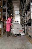工厂车间超市用Simpla65BT双盘刷电动手推式洗地机洗地车