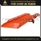 广州汉莫克 移动液压登车桥 欧美款集装箱装卸平台