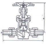 波纹管截止阀(WJ21, WJ23)