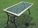 花园家具-铸铁木园桌(AC-A014)