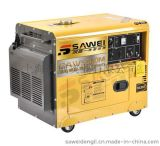 小型静音发电机/5KW柴油电启动发电机