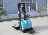 金铸电动叉车生产供应1.6t堆高车 物流用电动叉车 可定制站驾式仓库电动搬运车