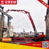 挖掘機加長臂鉤機三段式加長臂挖掘機加長臂定做挖機拆樓臂