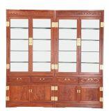供应黑龙江大庆帝豪红木家具 玻璃书架 厂家直销 红木家具文化知识 红木家具保养知识