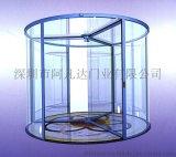 厂家直销豪华酒店两翼旋转玻璃门 两翼感应玻璃旋转自动门