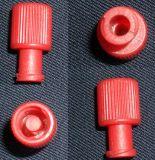 红色螺旋堵头