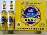 青岛劲派啤酒500ml大瓶