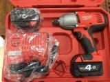 Milwaukee米沃奇 HD18 HIWF-402C 2664-20重型充电锂电池高扭力冲击扳手