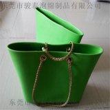 绿色EVA包 骏泰专业生产 EVA发泡制品 EVA高密度购物包