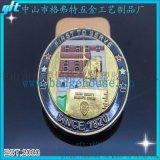 廠家定制烤漆滴膠工藝雙面幣紀念幣定制 周年紀念幣制造創意