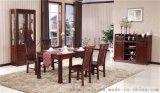 高档精品实木餐桌餐厅成套环保实木家具