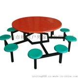 学生食堂餐桌椅 曲木餐桌椅 肯德基餐桌椅图片