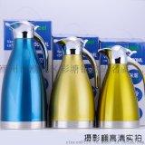 欧式真空咖啡壶 1.5L企鹅型热水壶 双层保温瓶304内胆