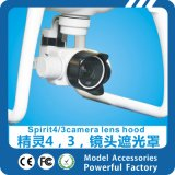 DJI精灵4/3phantom4/3配件 精灵3 镜头遮光罩遮阳 无人机 航模