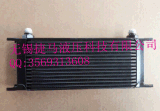 厂家 供应英制16 黑色 改装专用机油冷却器OIL COOLE