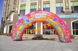 充气生日卡通拱门 节日儿童满岁周月卡通拱门定做
