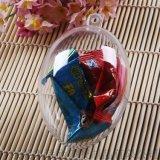 批發 優質喜糖造型盒 創意裝飾吊盒 蛋形透明盒 雞蛋形小膠盒