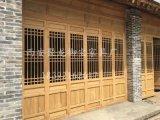 西安仿古门窗,实木门窗,松木门窗