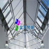 藍天麗景 玻璃採光頂FTS電動遮陽簾
