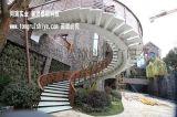 大型室外钢结构螺旋楼梯