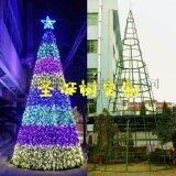 专业做圣诞装饰圣诞树、春节彩灯串灯亮化布置、挂灯笼