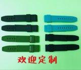 东莞厂家硅胶手表带双色手表带硅胶表带厂家订制