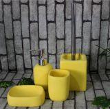 福建生产树脂氧化镁玻璃钢雕塑水泥透明工艺品工厂直销卫浴洗护套装系列