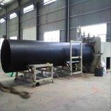 立筋式中空壁大口径塑钢缠绕排水管设备