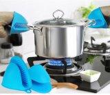 加厚创意硅胶防烫手套碗夹盘夹厨房隔热取盘夹碗器烘焙烤箱用手夹