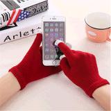 藍牙耳機通話免提手套保暖三指觸摸屏手套時尚滑屏手套