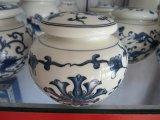 景德鎮陶瓷茶葉罐 中國紅茶葉罐