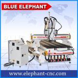 大功率意大利HSD风冷主轴三工序雕刻机,1325数控密度板木工雕刻机
