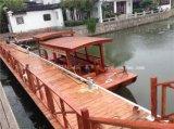 专业生产木船景区湿地公园观光手划木船