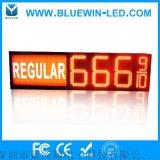 防水户外LED数字油价牌  led广告灯箱价格牌  单色防LED显示屏8.889/10油价牌 美国油价牌