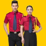 烔爍春夏新款短袖保安工作服物業保安制服套裝男女酒店保安服定制