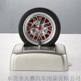 个性百货精品时钟 环保材质塑料轮胎造型小闹钟 厂家批发可定制