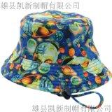 厂家直供 花布时尚渔夫帽盆帽 定制批发 夏季遮阳春秋出游