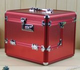 鋁合金化妝箱手提化妝箱珠寶首飾收納盒多層鋁箱