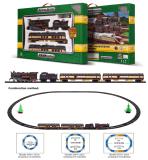 奮發1601A-4B塑料仿古軌道火車玩具