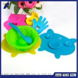 创意硅胶餐垫 可爱卡通宝宝吃饭防滑餐垫隔热垫 咖啡杯垫定做logo
